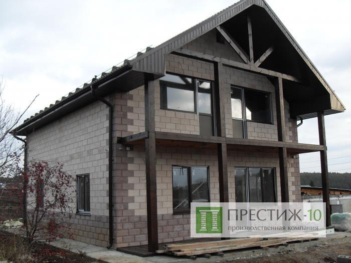 Проект дома из теплоблоков своими руками