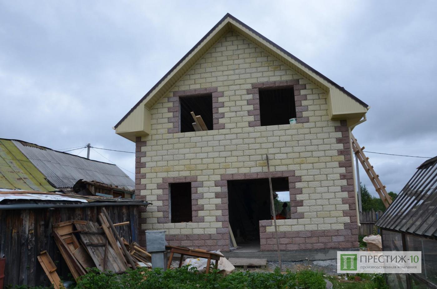Дома из теплоблоков фото проектов